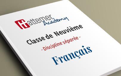 9e (8 à 9 ans) - Français