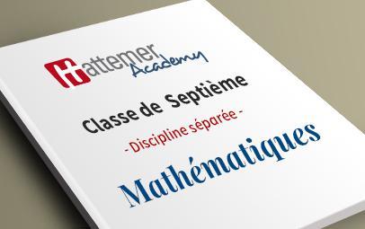 7e (10 à 11 ans) - Mathématiques