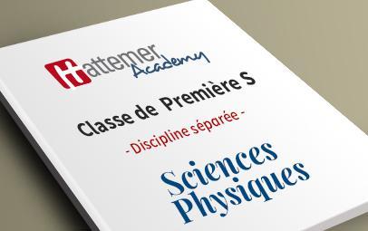 Première S - Sciences Physiques