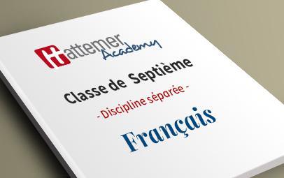 7e (10 à 11 ans) - Français