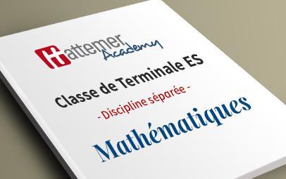 Terminale ES - Mathématiques