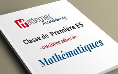 Première ES - Mathématiques