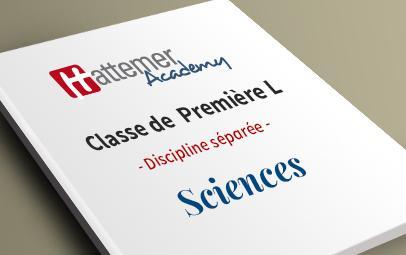 Première L - Sciences