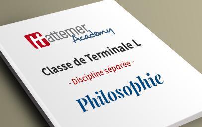 Terminale L - Philosophie