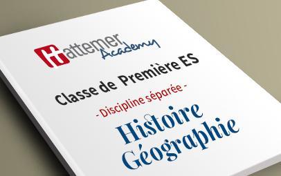 Première ES - Histoire - Géographie