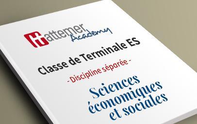 Terminale ES - Sciences Economiques Sociales