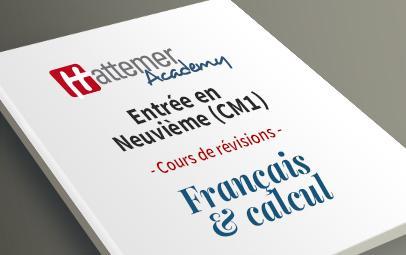 Entrée en 9e (CM1) - Français + Calcul