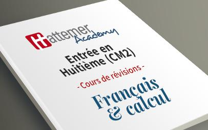 Entrée en 8e (CM2) - Français + Calcul